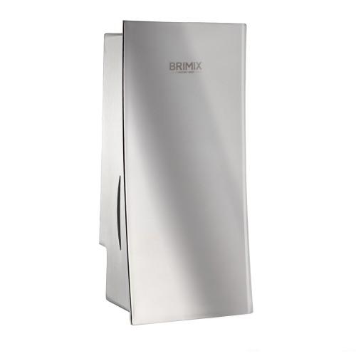 Дозатор жидкого мыла BRIMIX 646 стальной зеркальный 800мл.